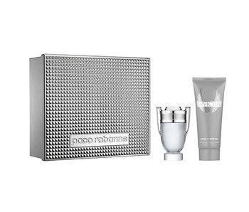 Paco Rabanne Invictus Gift Set EDT Spray 50 ml + All Over Shampoo 100 ml