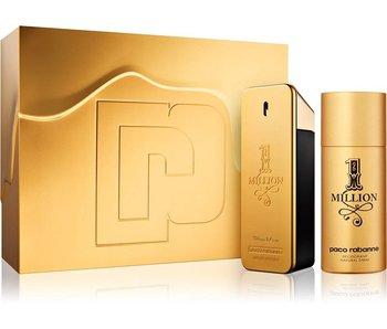 Paco Rabanne 1 Million Giftset Edt Spray 100ml Deo Spray 150ml