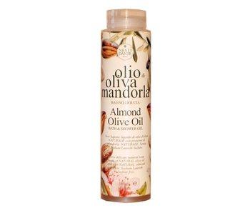 Nesti Dante Olio Di Oliva Mandorla Almond Olive Oil Bath & Shower Natural Liquid Soap Shower Gel