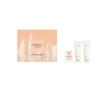 Narciso Rodriguez Poudree Giftset Edp Spray 50ml Body Lotion 75ml Shower Cream 75ml