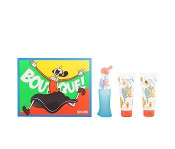 Moschino I Love Love Gift Set 50ml, Body Lotion I Love Love 100 ml and shower gel I Love Love 100 ml