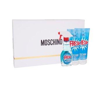 Moschino Fresh Couture Gift Set 50 ml, body lotion Fresh Couture 100 ml and shower gel Fresh Couture 100 ml
