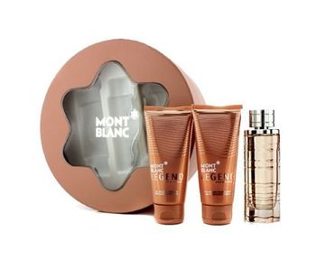 Mont Blanc Legend pour Femme Great Gift Set 75 ml, body lotion Legend pour Femme 100 ml shower gel and Legend pour Femme 100 ml