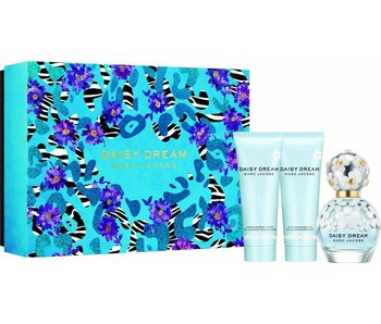 Marc Jacobs Daisy Dream Giftset Edt Spray 50ml Body Lotion 75ml Shower Gel 75ml