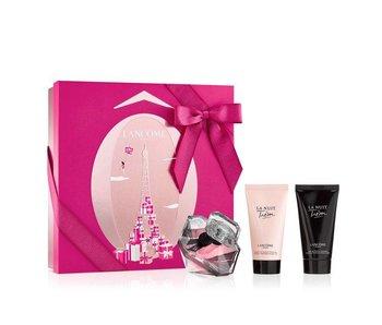 Lancôme SET Tresor La Nuit L'Eau De Parfum Edp 50Ml + Shower Gel 50Ml + Body Lotion 50Ml Xmas