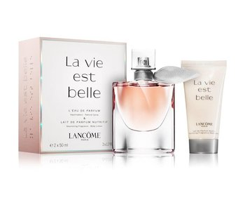 Lancôme La Vie est Belle Gift Set edp spray 50ml body lotion 50ml