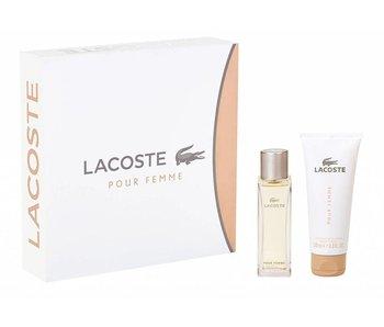 Lacoste Femme Gift Set Edp Spray 50ML + Body Lotion 100ML