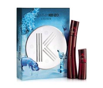 Kenzo Flower by Kenzo L´Elixir Gift Set 50 ml a Mini'se Flower by Kenzo L´Elixir 15 ml