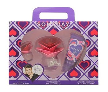 Justin Bieber Someday Gift Set 30 ml, Body Lotion Someday 50 ml and Miniature Someday 7,4 ml