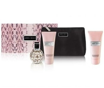 Jimmy Choo Woman Gift Set Edp Spray 100ml Body Lotion 100ml Shower Gel 100ml