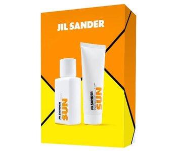 Jil Sander Sun Women Gift Set edt spray 75ml hair and body shampoo 75ml