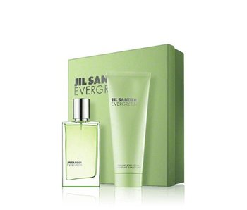 Jil Sander Evergreen Giftset Edt Spray 30ml Body Lotion 75ml