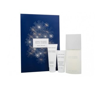 Issey Miyake L´Eau D´Issey pour Homme Giftset 125 ml, Shower gel 75 ml a balzám po holení 50 ml