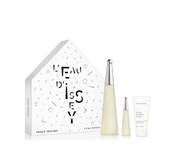 Issey Miyake L'eau D'issey Pour Femme Giftset EDT Spray 100 ml + EDT Spray 10 ml + Body Lotion 50 ml