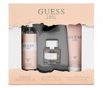 Guess Guess 1981 for Women Giftset 30ml, Body Lotion 75 ml a t?lový závoj 125 ml