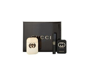 Gucci Guilty Gift Set 75 ml body lotion 100 ml Guilty Guilty miniatures and 7.4 ml