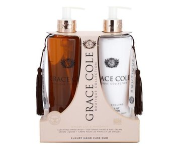 Grace Cole Set Boutique Hand Wash 500Ml + Hand & Nail Crem Ginger Lily & Mandarin