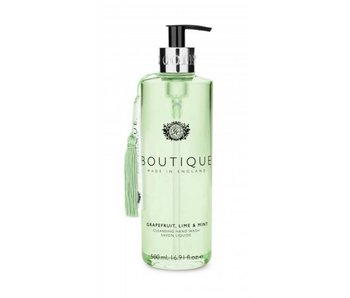 Grace Cole Boutique Hand Wash Grapefruit, Lime & Mint 500Ml
