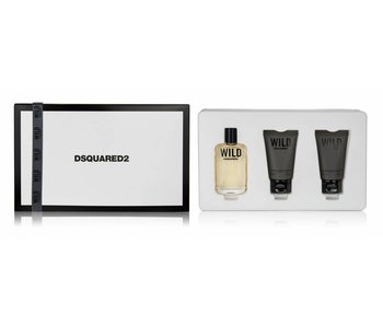 Dsquared SET Wild Pour Homme Edt 30Ml + 2X30Ml Shower Gel