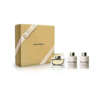 Dolce & Gabbana The One Gift Set 75 ml, Body Lotion The One 50 ml shower gel 50 ml The One