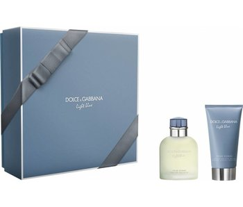 Dolce & Gabbana Light Blue Pour Homme Gift Set 75 ml and After Shave Balsam (After Shave Balm) Light Blue pour Homme 75 ml