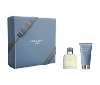 Dolce & Gabbana Light Blue Pour Homme Giftset Edt Spray 75ml After Shave Balm 75ml