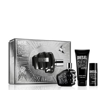 Diesel Only the Brave Tattoo Gift Set 75 ml, Shower Gel Only the Brave Tattoo 100 ml and Shower Gel Only the Brave Tattoo 50 ml