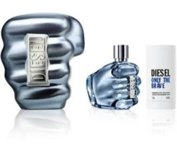 Diesel Only The Brave Pour Homme Giftset Edt Spray 125ml Deo Spray 75ml