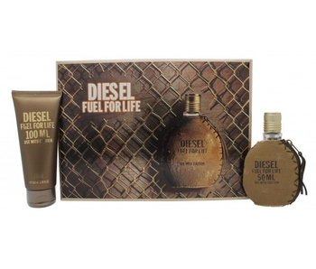 Diesel Fuel for Life Pour Homme Giftset edt spray 50 ml shower gel 100 ml