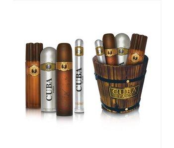 Cuba Cuba Gold Gift Set 100 ml , aftershave Cuba Gold 100 ml deodorant 200 ml Cuba Gold and Cuba Gold 35 ml