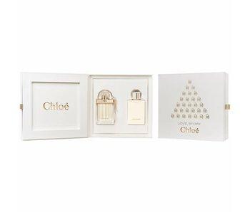 Chloe Love Story Giftset Edp 50ml + Body Lotion 100ml