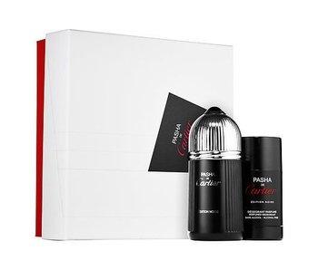 Cartier Pasha de Cartier Edition Noire Gift Set 100 ml and deostick Pasha de Cartier Edition Noire 75 ml