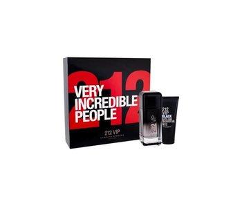 Carolina Herrera 212 VIP Men Black Giftset 100 ml a Shower gel 212 VIP Men Black 100 ml
