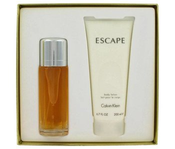 Calvin Klein Great Escape Gift Set 100 ml and a body lotion 200 ml Escape