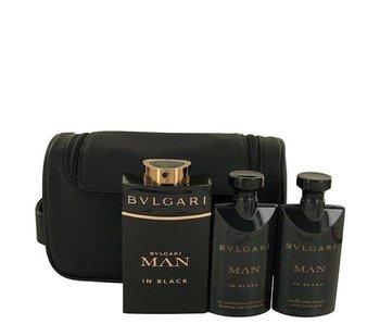 Bvlgari Bvlgari MAN In Black Gift Set 100 ml, after shave balm Bvlgari MAN In Black 75 ml, shower gel Bvlgari MAN In Black 75 ml and cosmetic bag