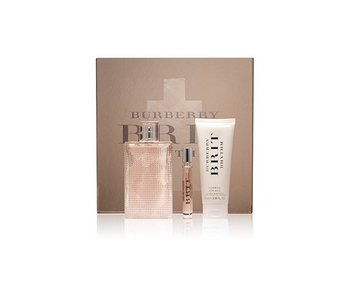 Burberry Brit Rhythm for Her Floral Gift Set 90 ml, Body Lotion 75 ml and Miniature 7,5 ml
