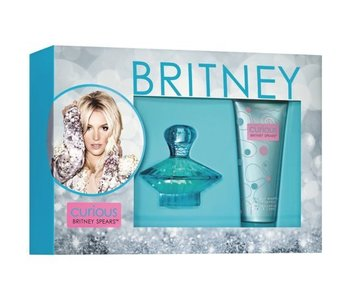 Britney Spears Curious Gift Set 100 ml body lotion and 100 ml Curious