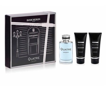 Boucheron SET Quatre Pour Homme Edt 100Ml + Asb 100Ml +Shower Gel 100Ml