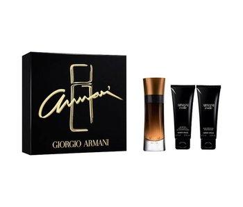 Armani Code Profumo Gift Set 60 ml, shower gel Code Profumo 75 ml and after shave balm Code Profumo 75 ml