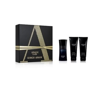Armani Code Pour Homme Giftset Edt Spray 50ml Shower Gel 75ml After Shave Balm 75ml