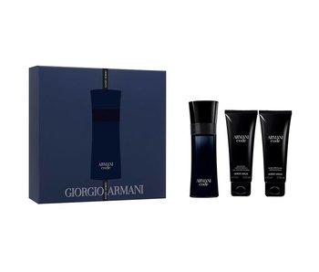 Armani Code for Men Gift Set 75 ml, after shave balm Code for Men 75 ml and shower gel Code for Men 75 ml