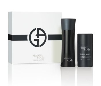 Armani Code for Men Gift Set 75 ml and deostick Code for Men 75 ml