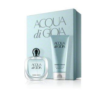 Armani Acqua di Gioia Gift Set 100 ml body lotion and Acqua di Gioia 75 ml