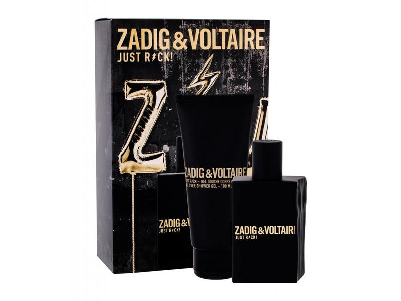 Zadig & Voltaire Just Rock! for Him EDT 50 ml Shower Gel Just Rock! for Him 100 ml
