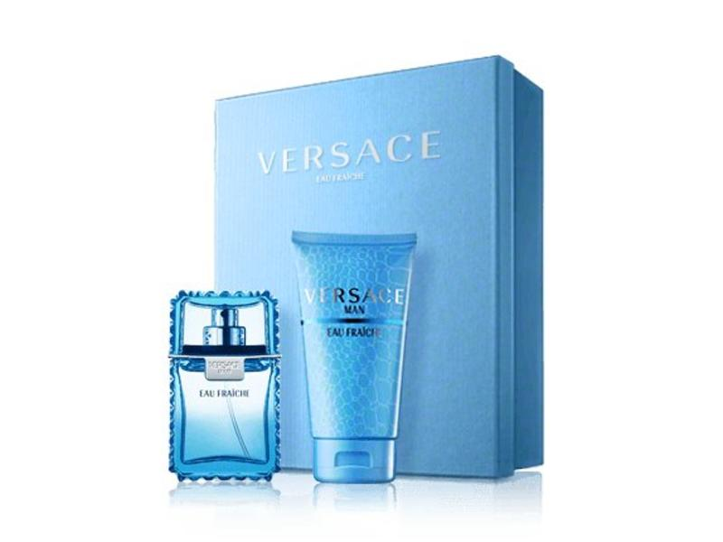 Versace Man Eau Fraiche EDT 100ml Shower Gel Man Eau Fraiche 150 ml