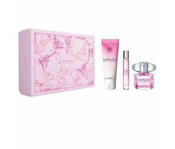 Versace Bright Crystal 90 ml, Shower Gel Bright Crystal 150 ml Mini'se Bright Crystal 10 ml