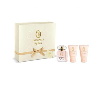 Trussardi Parfums My Name Gift Set EDP 30 ml, shower gel My Name 30 ml and body lotion My Name 30 ml
