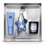 Thierry Mugler Angel Gift Set, Edp Spray Refillable 25ml/Bpdy Lotion 5ml/Candle 7gr