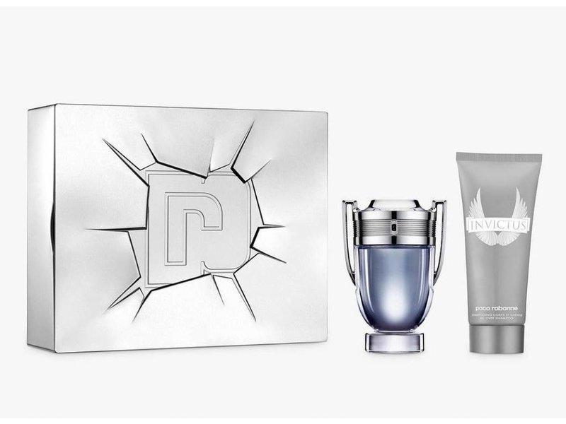 Paco Rabanne Invictus Giftset, Edt Spray 5ml/Shower Gel 1ml
