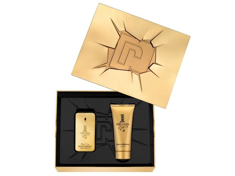 Paco Rabanne 1 Million Giftset, Edt Spray 5ml/Shower Gel 1ml